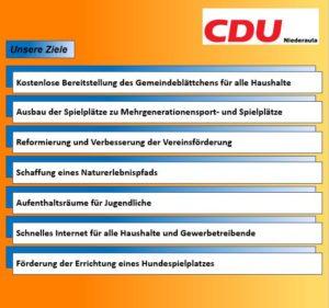 Wahlprogramm Cdu 2021
